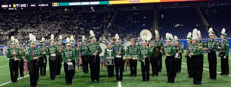 Forest Area Band at Ford Field